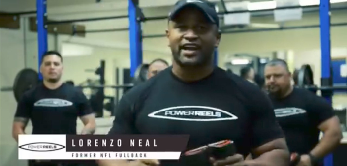 Lorenzo Neal | Fitness Equipment Endorsements | PowerReels